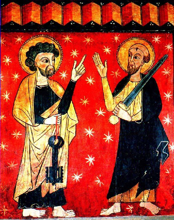 Santi  Pietro e Paolo dans immagini sacre Pietro-e-Paolo