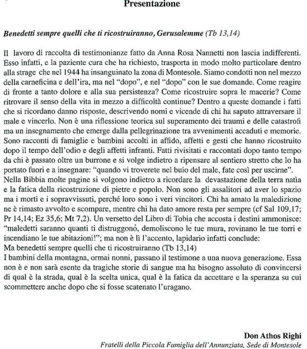 Presentazione_don_Athos_Righi_del_libro_I_Bambini_del_44_di_Anna_Rossa_Nannetti