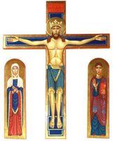 Crocifisso Chiesa Parrocchia Sant'Antonio da Padova alla Dozza - BO
