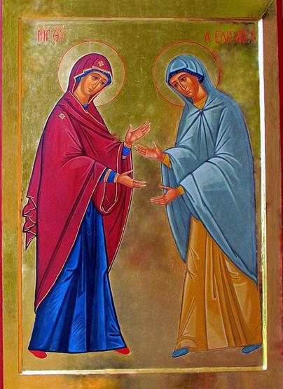 icona della Visitazione
