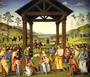Adorazione magi_Citta_della_Pieve_Perugino
