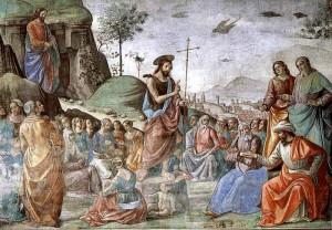 San Giovanni Battista_predicazione_ghirlandaio