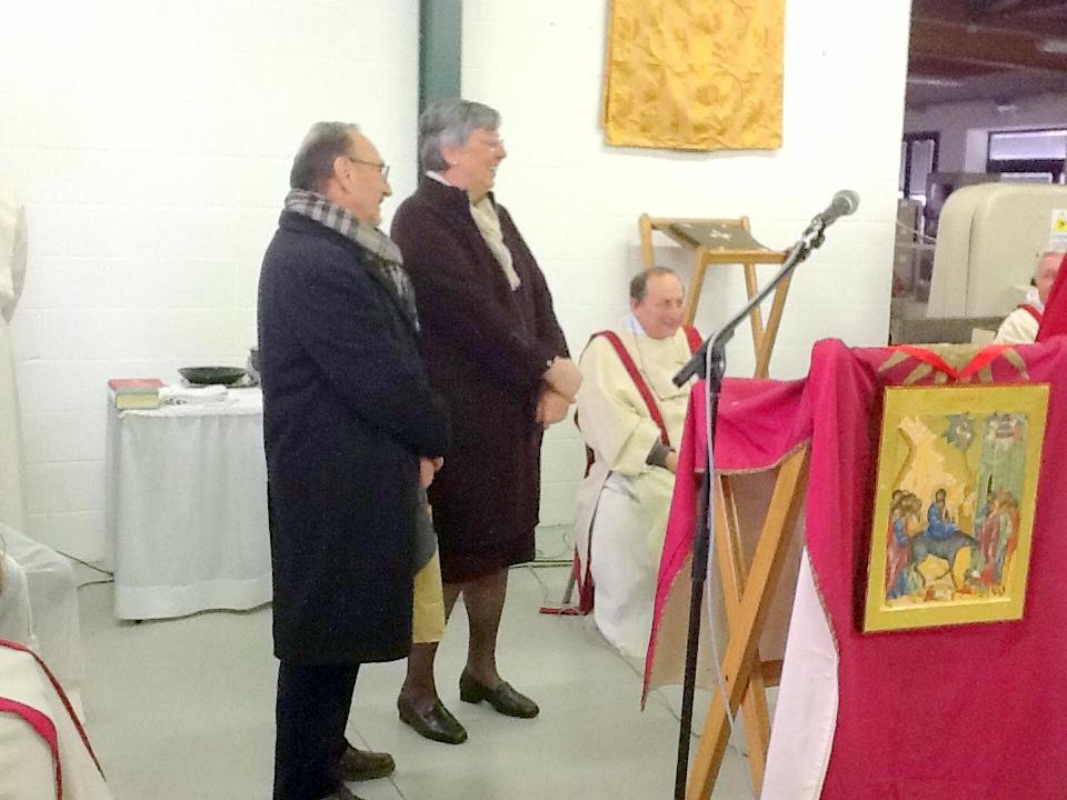 Premiazione del toto-Papa a Sammartini
