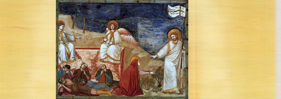 La risurrezione è inevitabilmente inquietudine