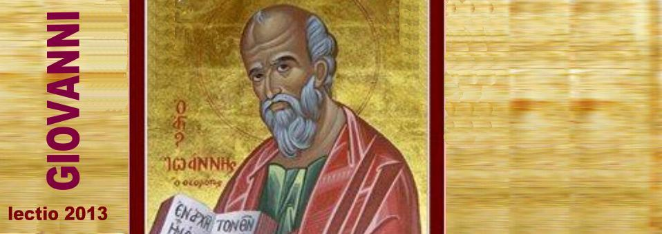 Giovanni 20,19-23