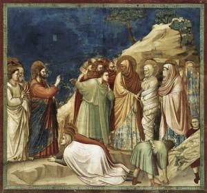 resurrezione di Lazzaro_giotto