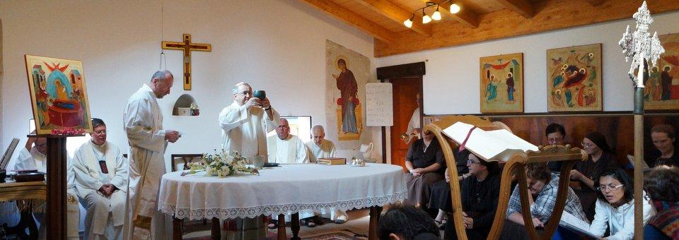 La festa di Maria Assunta in cielo al ritiro di  Sovere