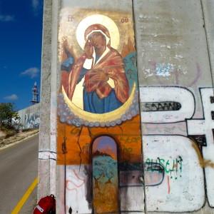 Madonna muro betlemme