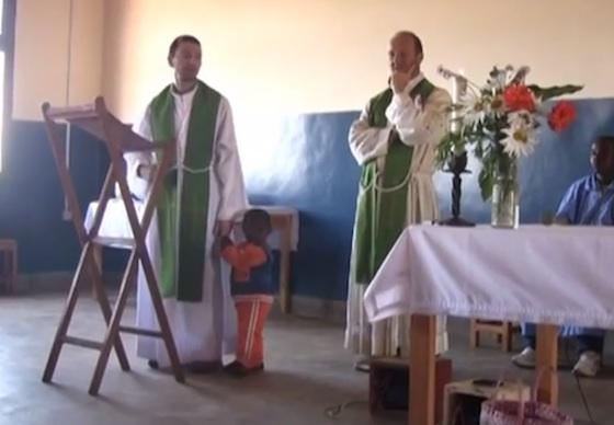 Un nuovo don Davide a Mapanda