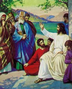 Gesù sacerdoti e anziani