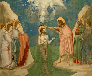 Battesimo del Signore_Giotto