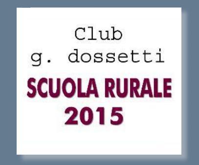 Scuola Rurale 2015- Incontro di domenica 8-03-2015