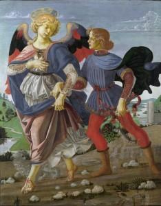 Tobia e angelo_Andrea_del_Verrocchio