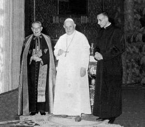 lercaro-papa Giovanni-dossetti