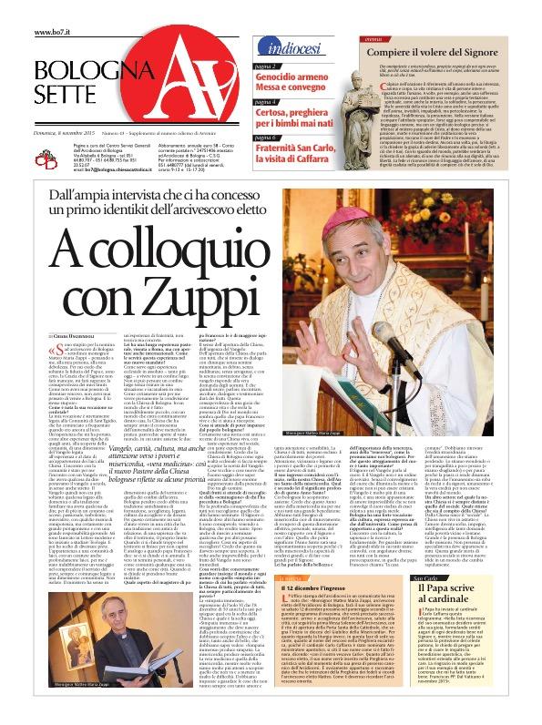 A colloquio con Zuppi