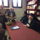 Il Patriarca Bartolomeo in visita a Monte Sole e al cimitero di Casaglia
