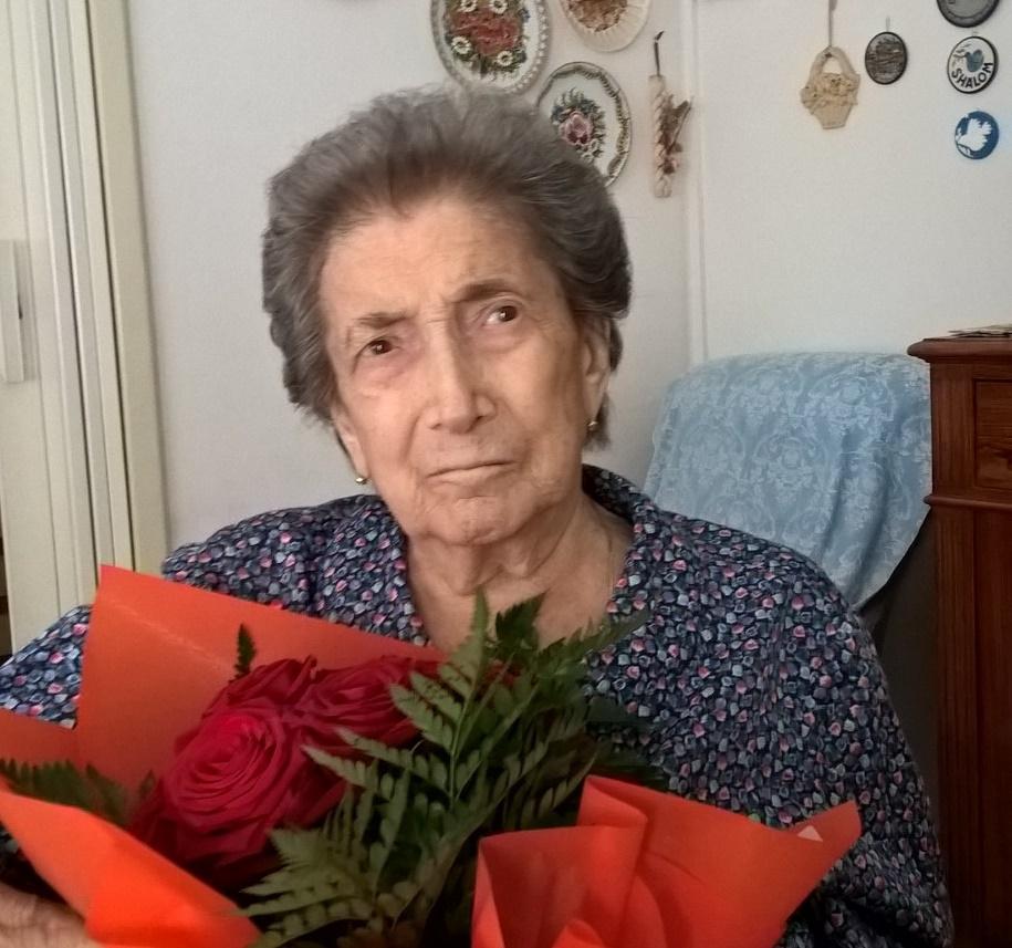 Nonna Luisa ha celebrato la sua Pasqua