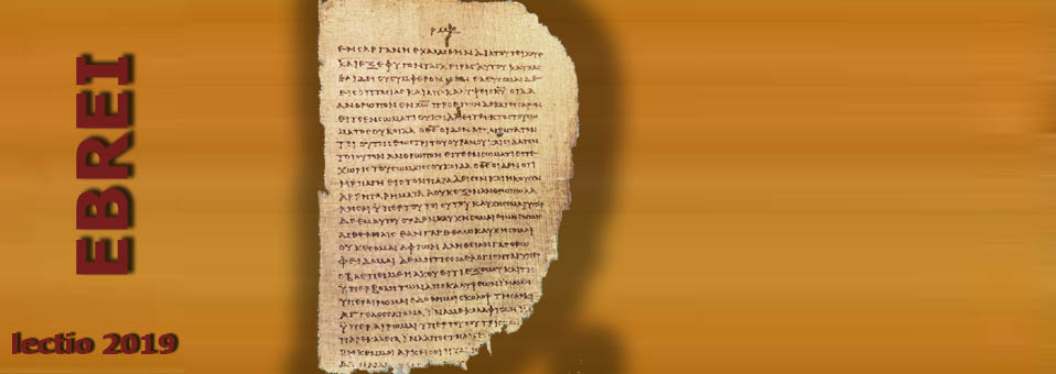 Ebrei 10,5-10
