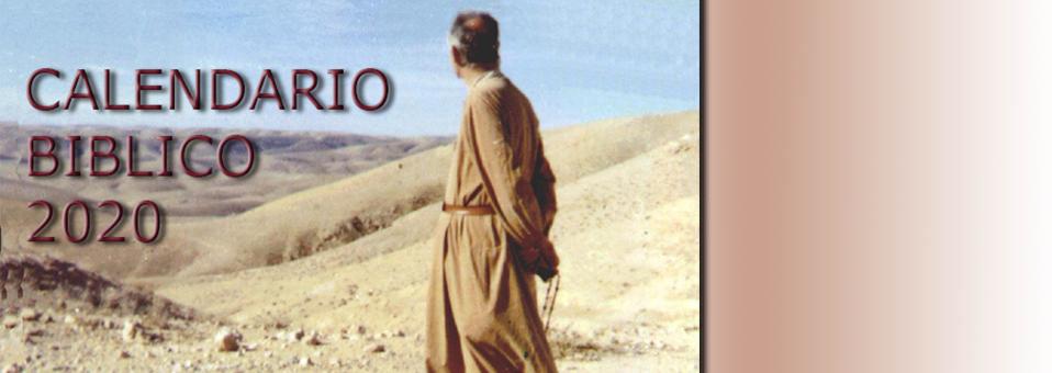 Calendario biblico 2020