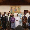 La professione di fratelli africani delle Famiglie della Visitazione