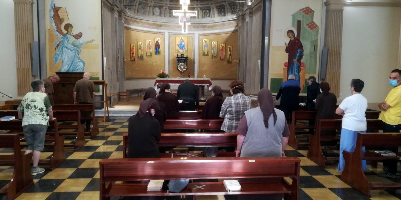Pentecoste e Quarant'ore a sammartini