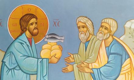 Icona della frazione dei pani e dei pesci