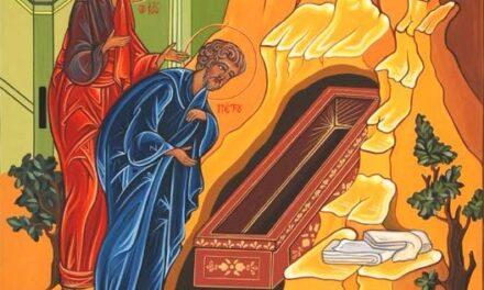 Omelia di d. Giovanni Nicolini e d. Francesco Scimè nella messa del giorno di Pasqua